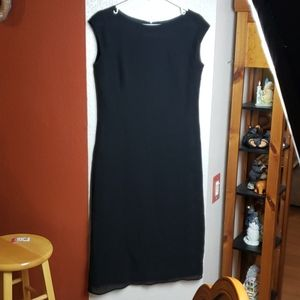 Banana Republic black wool dress, sz 6